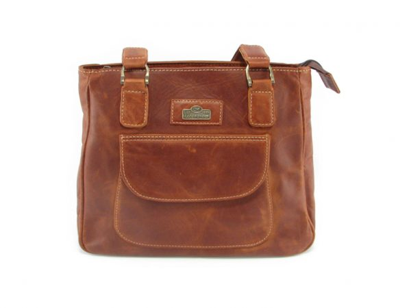 Isabel HP7287 front classic handbag leather bags women, Der Lederhandler, George, Western Cape