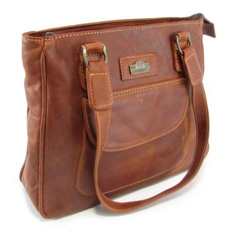 Isabel HP7287 side classic handbag leather bags women, Der Lederhandler, George, Western Cape
