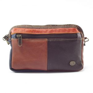 Jaydee Sling Multi HP7235 - unisex leather wallet bag by Der Lederhandler
