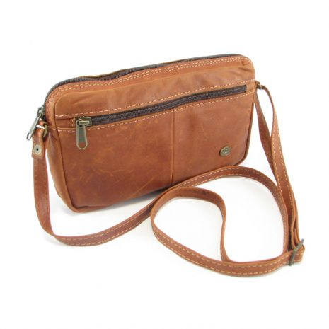 Jaydee Sling Large Cards HP7265 side leather wallet bags, Der Lederhandler, George, Western Cape