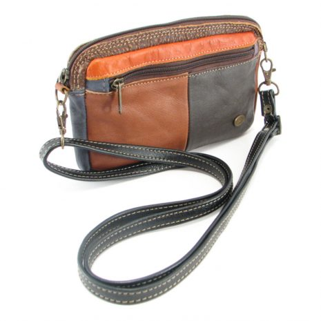 Jaydee Sling Multi HP7235 side leather wallet bags, Der Lederhandler, George, Western Cape