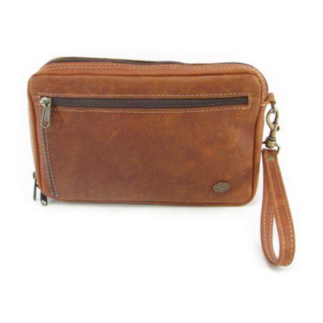 Jaydee Wrist Extra Large Cards HP7266 front leather wallet bags, Der Lederhandler, George, Western Cape