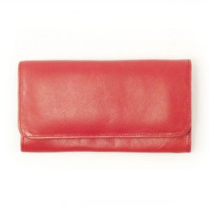 Ladies Wallet Two HPLW02KU - leather trifold purse women by Der Lederhandler