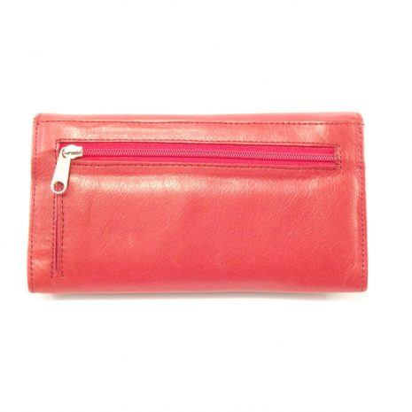 Ladies Wallet Two HPLW02KU - leather trifold purse women by Der Lederhandler