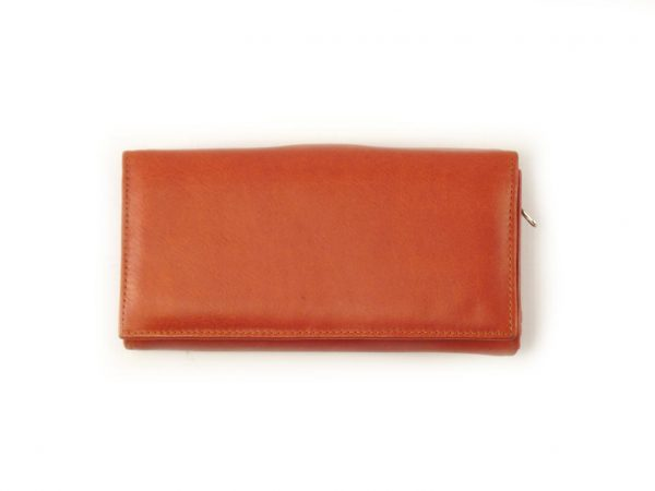 Ladies Wallet four HPLW04KU - full-grain genuine leather purse by der Lederhandler