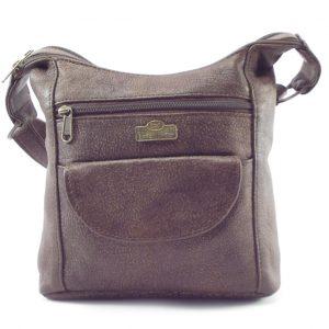 Lana Small HP7192 - classic small hobo baguette style handbag by Der Lederhandler