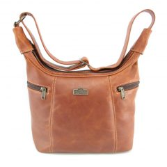 Lana Medium HP7146 front classic handbag leather bags women, Der Lederhandler, George, Western Cape