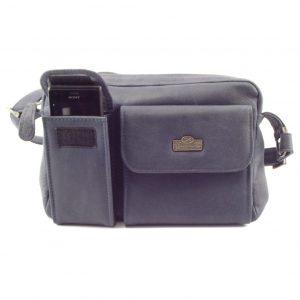 Kyla HP310 cross body leather organizer tech handbag by Der Lederhandler