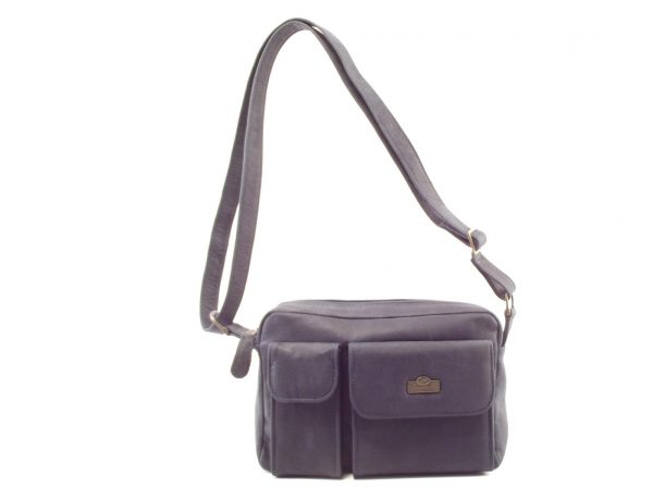 Kyla HP310 cross body leather organizer tech handbag by Der Lederhandler