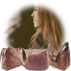 Genuine leather shoulder bags as part of Der Lederhandler's online accessories - George, Western Cape