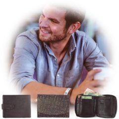 Genuine leather wallets for men as part of Der Lederhandler's online accessories - George, Western Cape