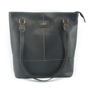 Linda Large HP7273 front classic handbag leather bags women, Der Lederhandler, George, Western Cape