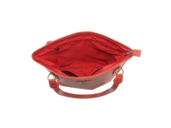 Linda Large HP7273 inside classic handbag leather bags women, Der Lederhandler, George, Western Cape