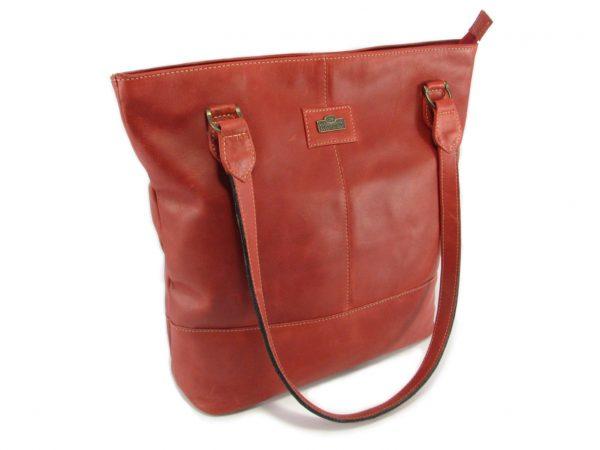 Linda Large HP7273 side classic handbag leather bags women, Der Lederhandler, George, Western Cape