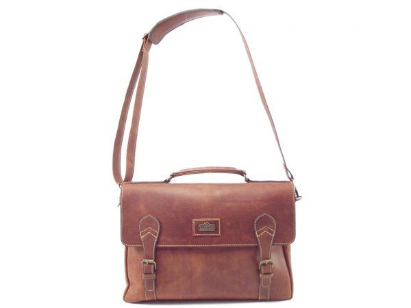 Lional HP7278 - leather laptop bag for men by Der Lederhandler