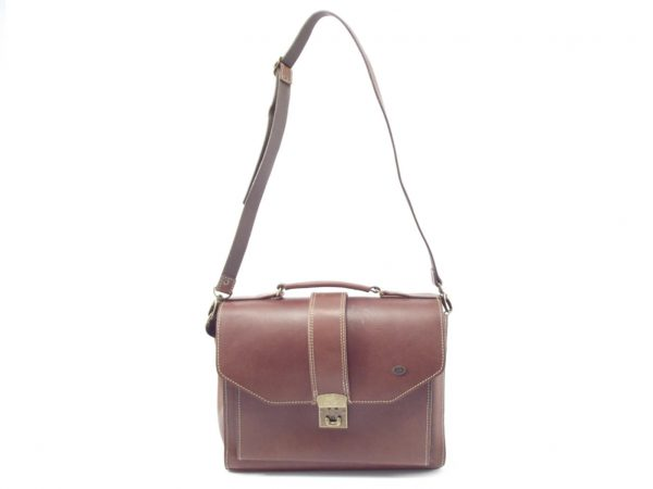Luisa HP256 -leather crossbody satchel handbag by Der Lederhandler