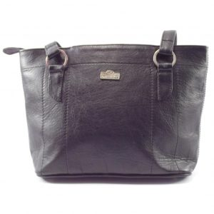 Magdalene Ring Large HP7182 - large tote shopper leather handbag by Der Lederhandler