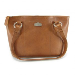 Magdalene Ring HP7154 front classic handbag leather bags women, Der Lederhandler, George, Western Cape