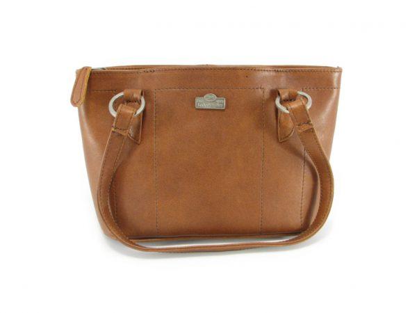 Magdalene Ring HP7154 front classic handbag leather bags women, Der Lederhandler, George, Western Cape