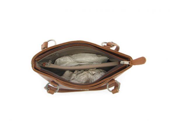 Magdalene Ring HP7154 inside classic handbag leather bags women, Der Lederhandler, George, Western Cape