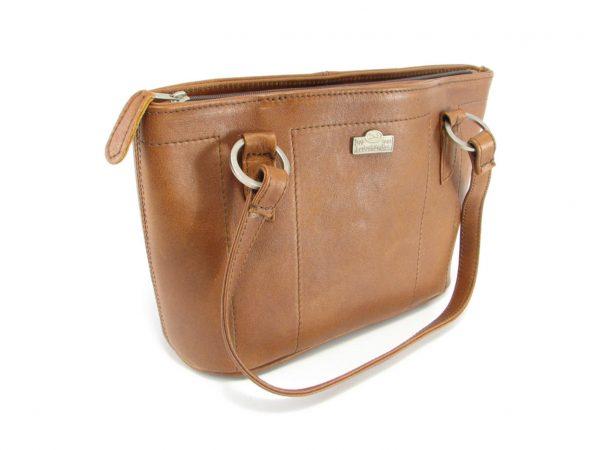 Magdalene Ring HP7154 side classic handbag leather bags women, Der Lederhandler, George, Western Cape