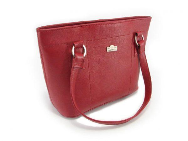 Magdalene Ring Large HP7182 side classic handbag leather bags women, Der Lederhandler, George, Western Cape