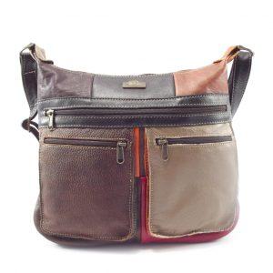 Marina Small Multi HP7216 - crossbody small organizer tech handbag by Der Lederhandler