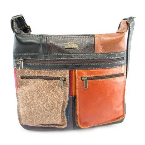Marina Small Multi HP7216 front crossbody handbag leather bags women, Der Lederhandler, George, Western Cape