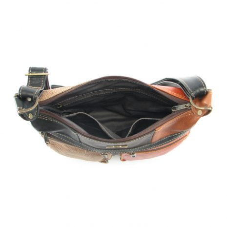 Marina Small Multi HP7216 inside crossbody handbag leather bags women, Der Lederhandler, George, Western Cape