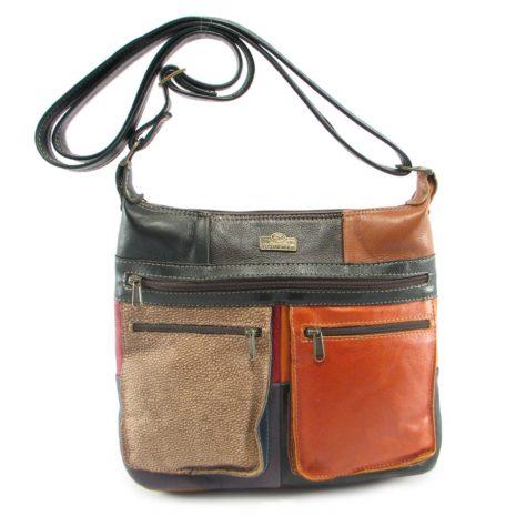 Marina Small Multi HP7216 long crossbody handbag leather bags women, Der Lederhandler, George, Western Cape