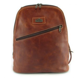 Marsha Rucksack HP7284 front leather backpack bags, Der Lederhandler, George, Western Cape