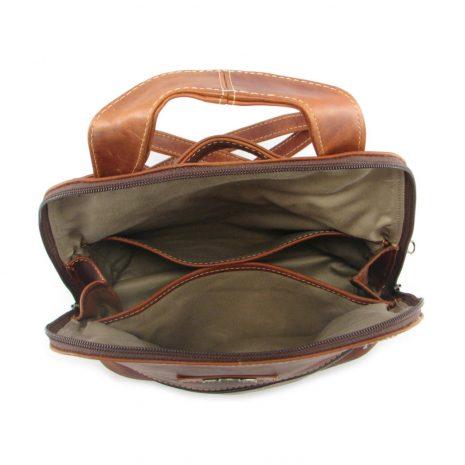 Marsha Rucksack HP7284 inside leather backpack bags, Der Lederhandler, George, Western Cape