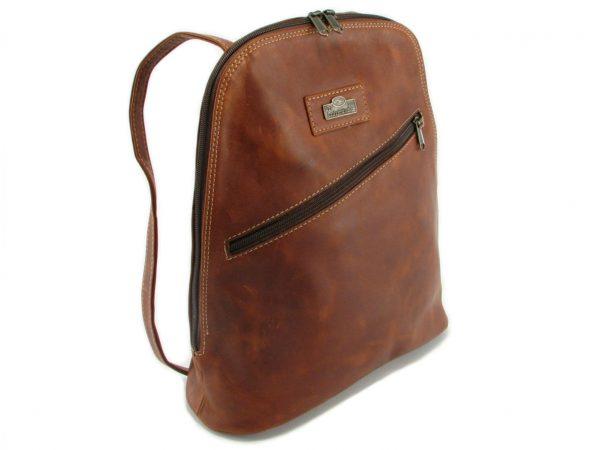 Marsha Rucksack HP7284 side leather backpack bags, Der Lederhandler, George, Western Cape
