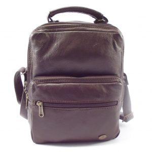 Max Sling HP7158 - leather wallet sling bag by Der Lederhandler