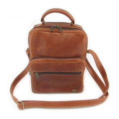 Max Sling HP7158 front leather bags men, Der Lederhandler, George, Western Cape