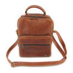 Max Sling HP7158 front leather bags men, Der Lederhandler, George, Western Cape