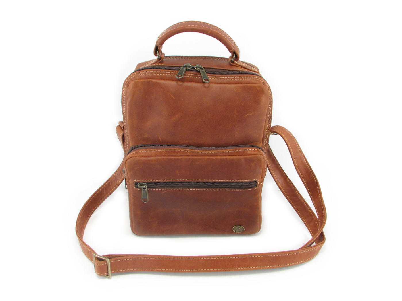 b6761c8dace4 Max Sling HP7158 front leather bags men