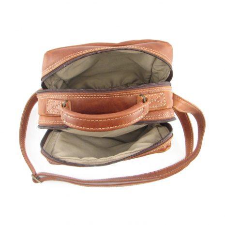 Max Sling HP7158 inside leather bags men, Der Lederhandler, George, Western Cape