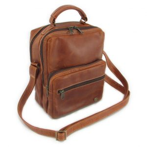 Max Sling HP7158 side leather bags men, Der Lederhandler, George, Western Cape