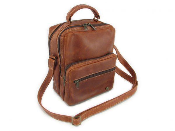 Max Sling HP7158 side leather bags men, Der Lederhandler, George, Western Cape
