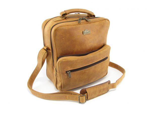 Max Sling Large HP7262 side leather bags men, Der Lederhandler, George, Western Cape