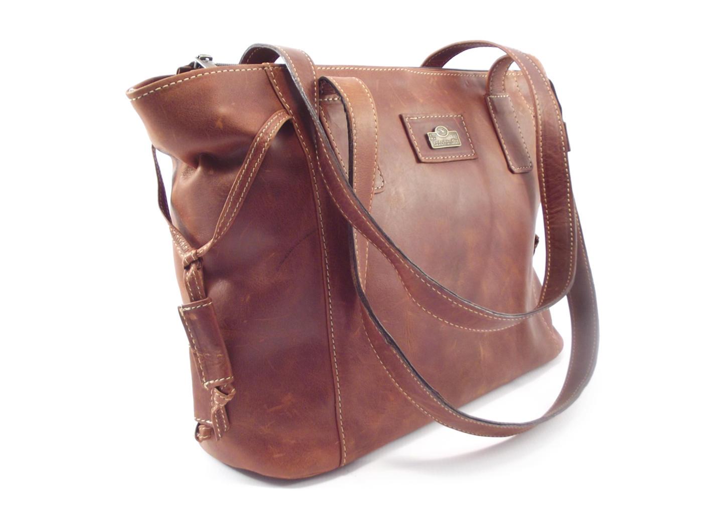376565129bb9 ... half off 9a31f dc942 Medium flat tote double strap handbag Der  Lederhandler ...