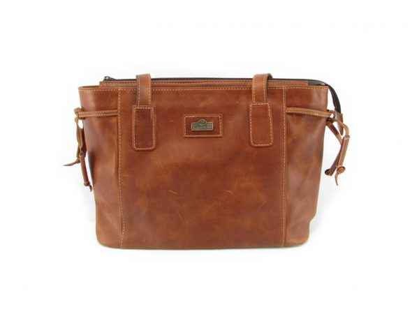 Megan Small HP7280 front classic handbag leather bags women, Der Lederhandler, George, Western Cape