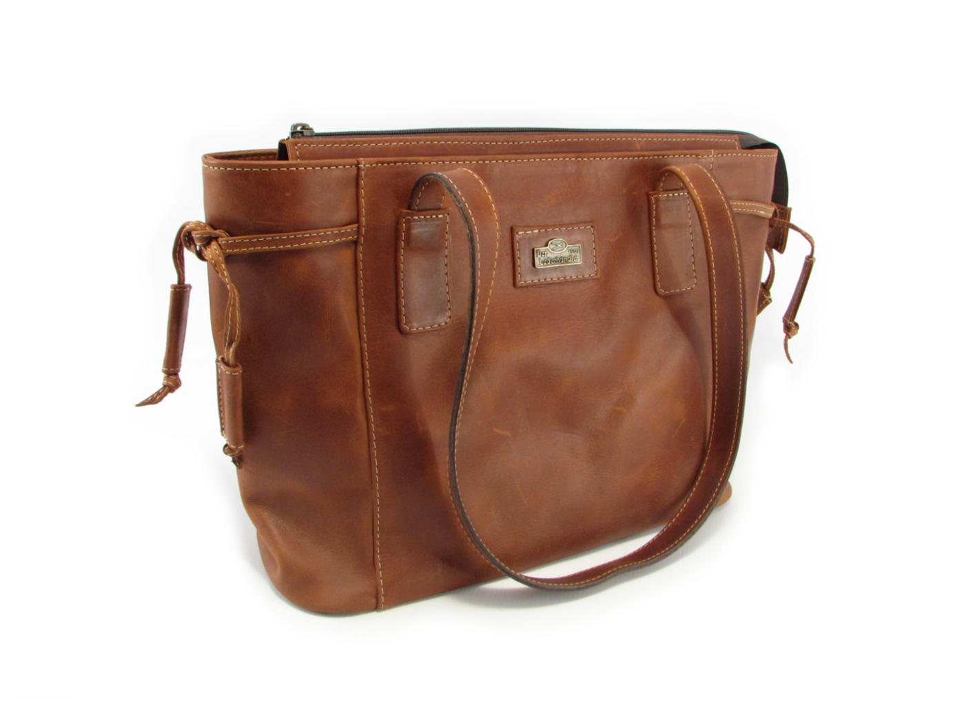 b94657146b Medium flat tote double strap handbag