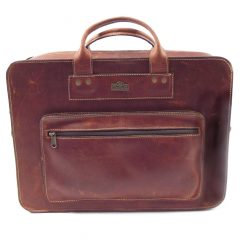 Men's Briefcase 2 HP7240 - leather laptop bag by Der Lederhandler