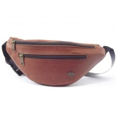 Moonbag One HP7023 - leather waist bag by Der Lederhandler