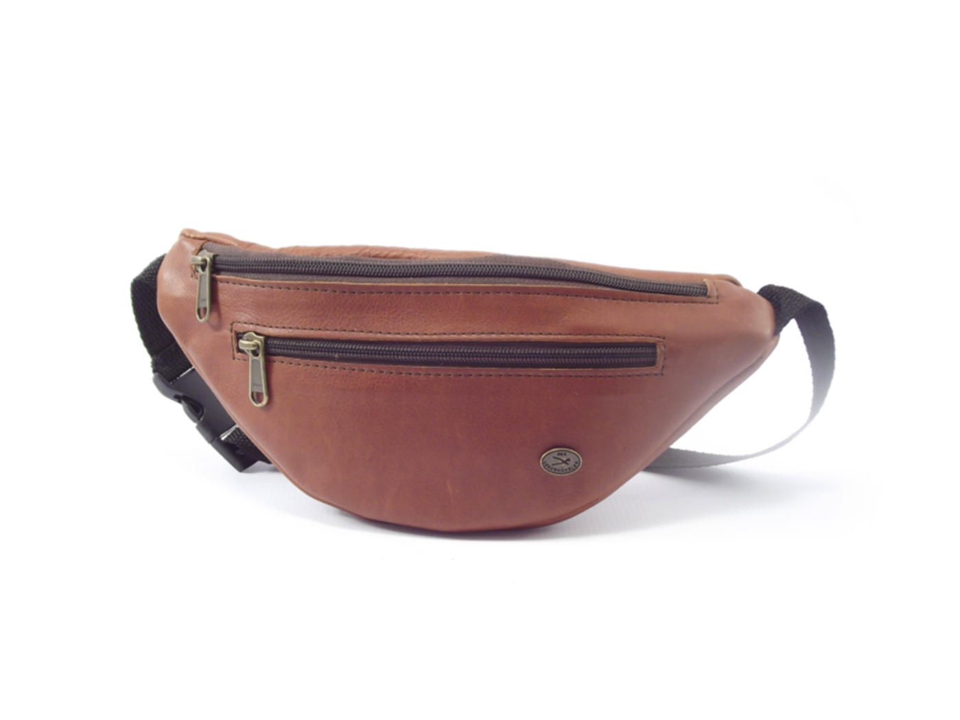 Moonbag One Hp7023 Leather Waist Bag By Der Lederhandler