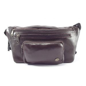 Moonbag Three HP7196 - genuine leather waist belt bag by Der Lederhandler