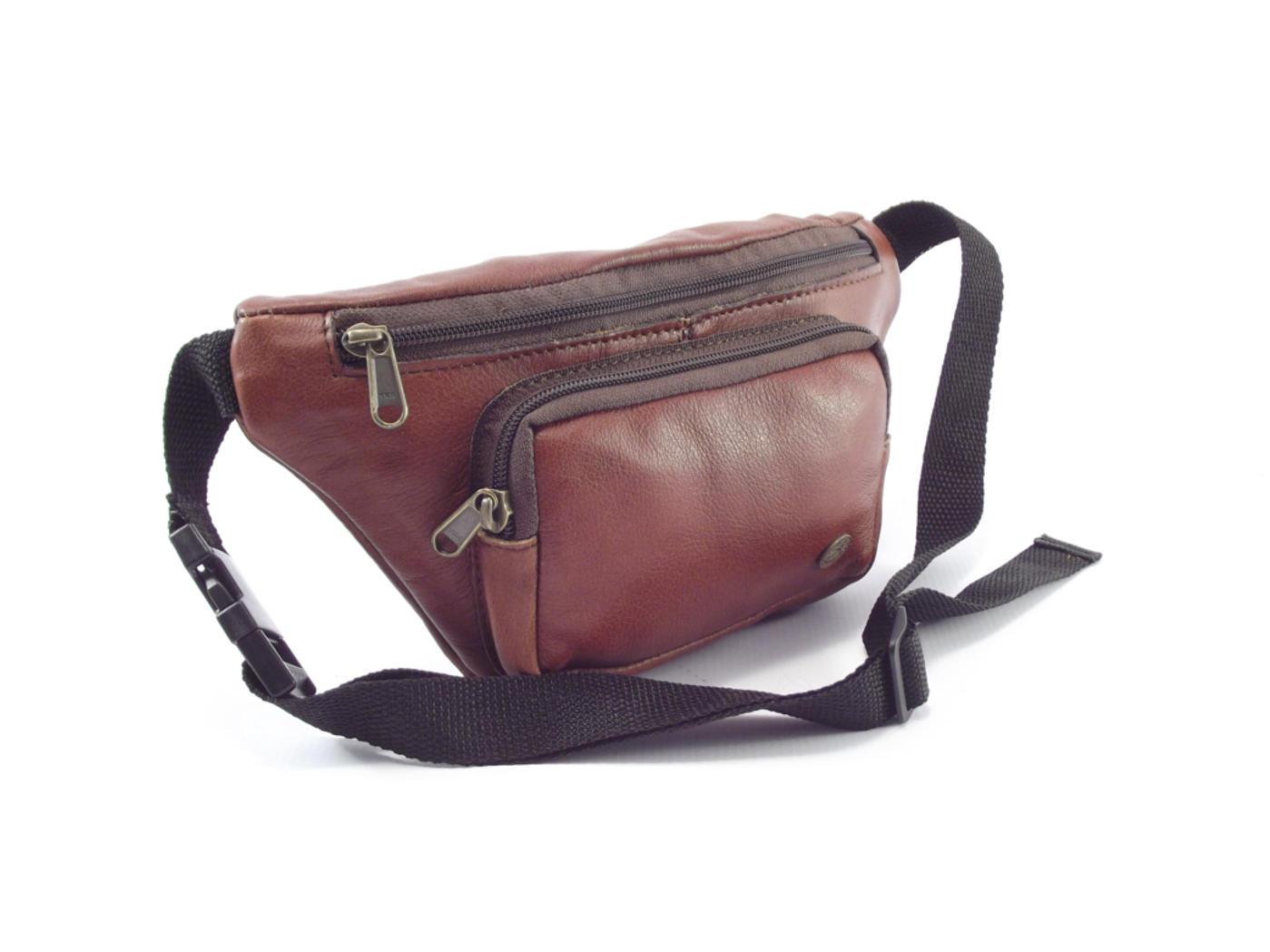 Moonbag Two Hp7188 Genuine Leather Hip Bag By Der Lederhandler