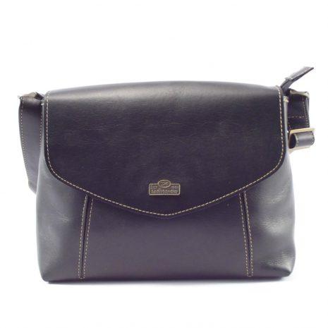 Rhona HP7246 - elegant leather crossbody handbag by Der Lederhandler